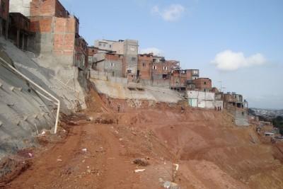 Consorcio passarelli carioca contenção de encostas com solo grampeado