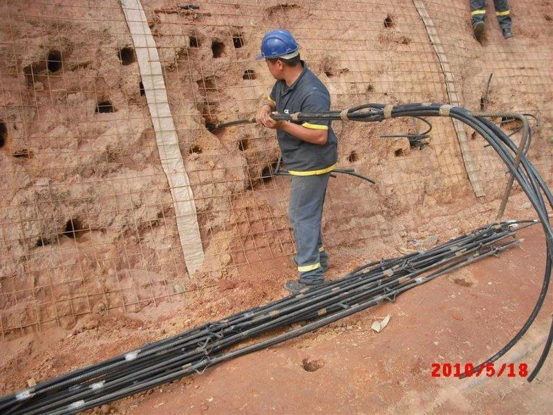 Estabilização de solos