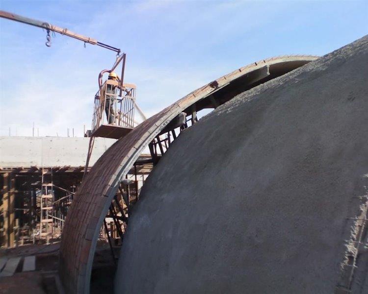 Revestimento em concreto projetado