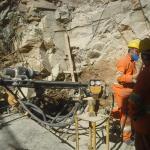 Empresa de perfuração de rocha